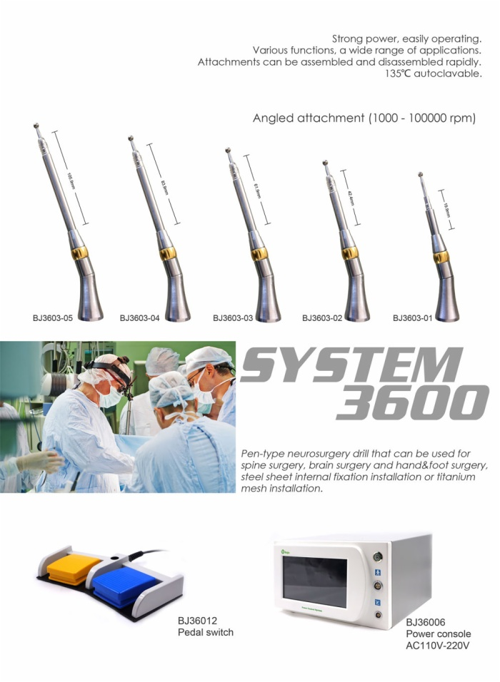 BJ3600 Microtype surgical power tool